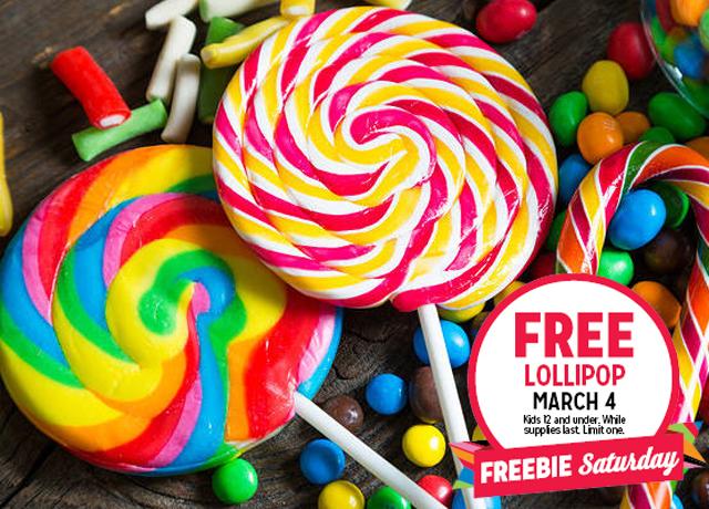FREE Lollipop for Kids at Kmart (3/4)