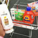 shopping cart pantene tide gain