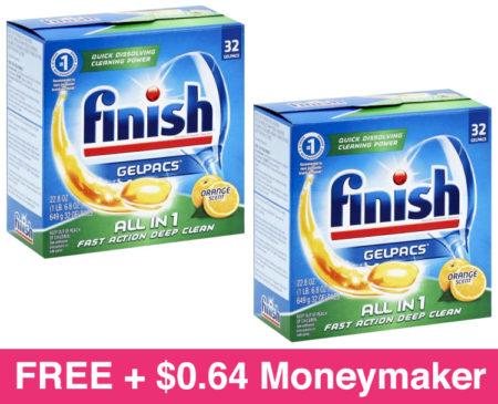 Free Finish Dishwasher Tabs Free Pickup